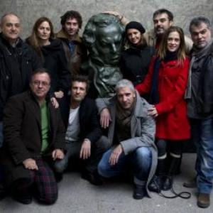 Andalusian actors, directors and producers at the Academia de Cine, Madrid