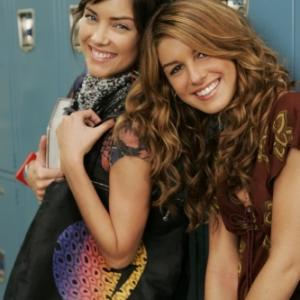Still of Shenae GrimesBeech and Jessica Stroup in 90210 2008