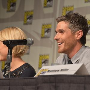 Rachael Taylor and Dave Annable at event of 666 Park Avenue (2012)