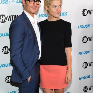 Josh Lawson and Rachael Taylor at event of House of Lies (2012)