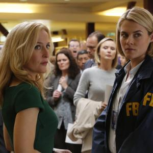 Still of Gillian Anderson and Rachael Taylor in Crisis (2014)