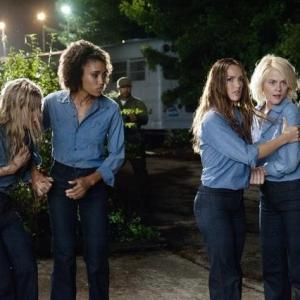 Still of Minka Kelly, Rachael Taylor, Krista Kalmus and Annie Ilonzeh in Charlie's Angels (2011)