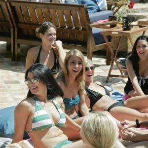 Still of Krisily Kennedy Jessie Sulidis Natalie Getz Ashley Elmore and Tenley Molzahn in Bachelor Pad 2010