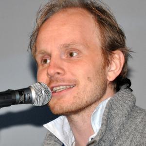 Dome Karukoski presenting Lapland Odyssey at the Midnight Sun Film Festival
