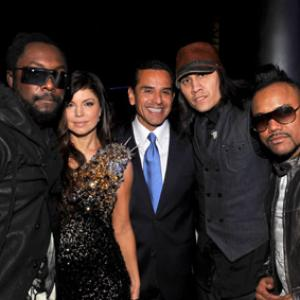 Fergie, Will.i.am, Antonio Villaraigosa