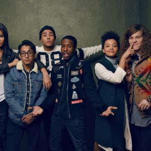 Tony Revolori Quincy Brown Blake Anderson Chanel Iman Kiersey Clemons and Shameik Moore