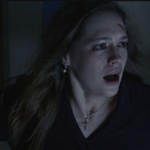 Kerry Knuppe in the independent horror film HOME.