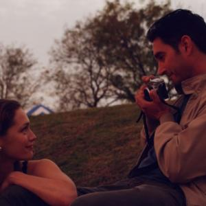 Kerry Knuppe and Jonathan Rossetti in independent feature HOME, JAMES