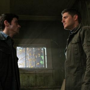 Still of Jensen Ackles and Matt Cohen in Supernatural (2005)