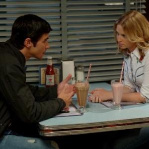 Still of Matt Cohen and Amy Gumenick in Supernatural (2005)