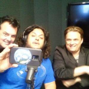 Elvis Guinan and Damian Chapa on Live RADIO show 2015