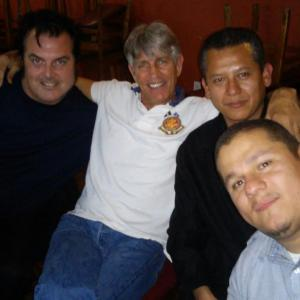 Elvis Guinan. Eric Roberts. Fernando and Bougart in