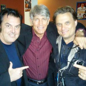 Elvis Guinan. Eric Roberts and Damian Chapa in ENEMY WITHIN Motion Picture May 20th 2015 Elvis performed as Detective Davidson