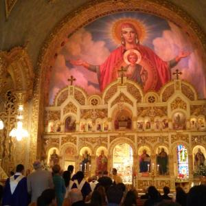 Saint Sophia Cathedral March 2015 Make a prayer, mixed with a wish to someone you love, not yourself...