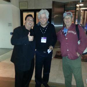Mr. GUinan and Avi Lerner at the AMERICAN FILM MARKET 2013