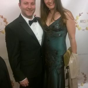 Michael Vincenzino and Kathleen Davison - New York City International Film Festival