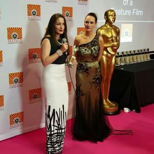 Kathleen Davsion wins Best Original Screenplay for Primrose Lane at Madrid International Film Festival