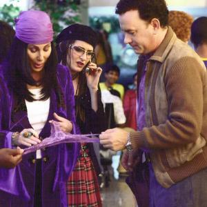 Cher, Kathleen Davison, and Tom Hanks in The Terminal