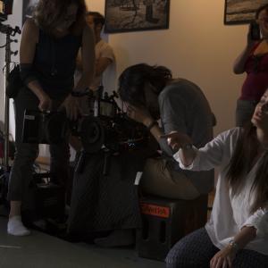Kathleen Davison directing for We Care Dental