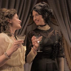 Kathleen Davison and Alysia Reiner as Emma and Theodocia in Primrose Lane