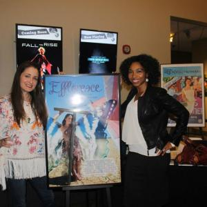 Kathleen Davison and Melinda Milton at the Effloresce screening at NoHo Cinefest (Laemmle 7, North Hollywood)