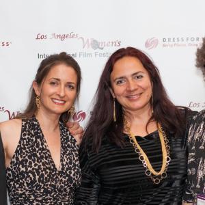 Curtis Mark Williams, Kathleen Davison, Penka Kouneva, and Bobby Finley - Los Angeles Women's International Film Festival