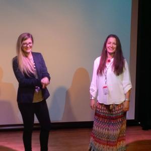 Amy Reedy and Kathleen Davison - Filmmaker Q&A - Female Eye Film Festival