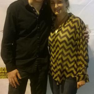Gustavo Sampaio and Kathleen Davison - NoHo Cinefest