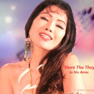 In his Arms. This is a photo for Shere's CD cover dated Dec 2011