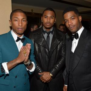 Pharrell Williams, Trey Songz, Scott Mescudi