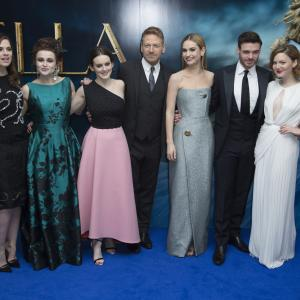 Kenneth Branagh, Helena Bonham Carter, Holliday Grainger, Richard Madden, Hayley Atwell, Sophie McShera, Lily James