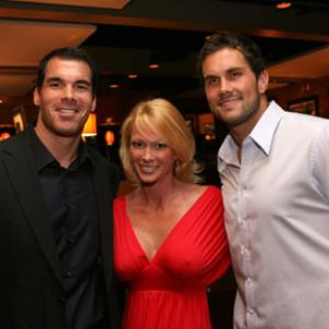 Brandon Molale, Kimberly Wolfe, Matt Leinart