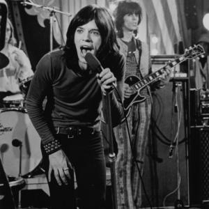 Still of Mick Jagger Keith Richards and The Rolling Stones in The Rolling Stones Rock and Roll Circus 1996