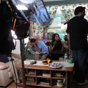 Filming on the set of HavanaGila writtendirected by Maylen Calienes