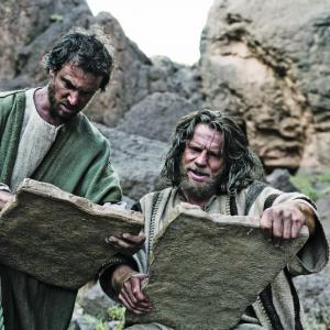 Still of William Houston and Sean Knopp in The Bible 2013