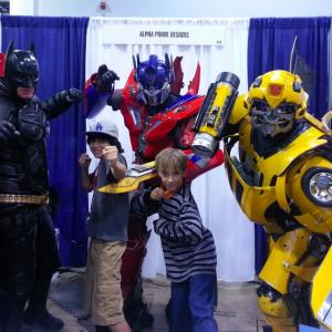 Tyler at WonderCon with his buddy Diego Josef