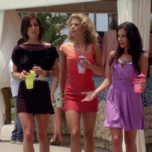 Still of AnnaLynne McCord, Jessica Stroup and Jessica Lowndes in 90210 (2008)