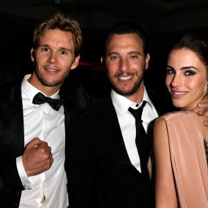 Ryan Kwanten and Jessica Lowndes