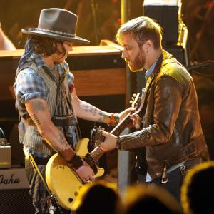Johnny Depp, Dan Auerbach, The Black Keys