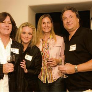Paula Smith Elizabeth Fowler Debra Fink and Chris Fink at Kucinich Fundraiser