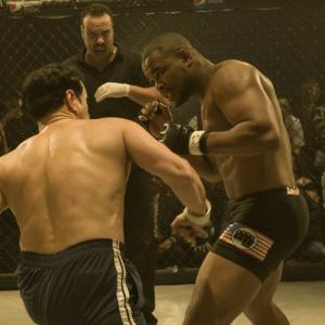 Still of Hector Echavarria and Rashad Evans in Unrivaled 2010