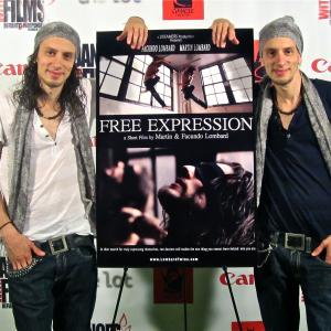 Facundo Lombard and Martn Lombard at Dances With Films Screening of Free Expression 2012
