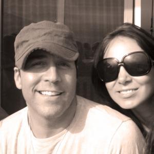 Jeremy Piven and Elena Caruso