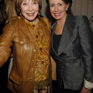 Shirley MacLaine, Nancy Pelosi