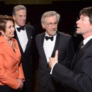 Steven Spielberg, Ken Burns, Nancy Pelosi, Paul Pelosi, House of Representatives