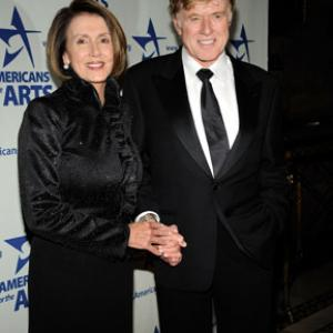 Robert Redford, Nancy Pelosi