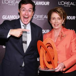 Stephen Colbert, Nancy Pelosi