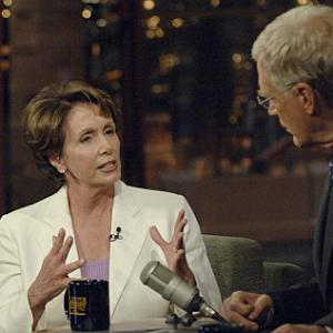 David Letterman, Nancy Pelosi