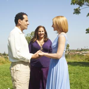 Still of Kathy Najimy Tony Shalhoub and Patricia Clarkson in Five 2011