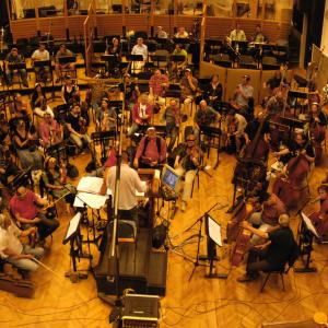 The City of Prague Philharmonic Orchestra recording at Smecky Music Studios